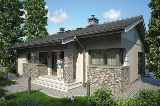 Projekt domu S-GL 852 Ricardo IX