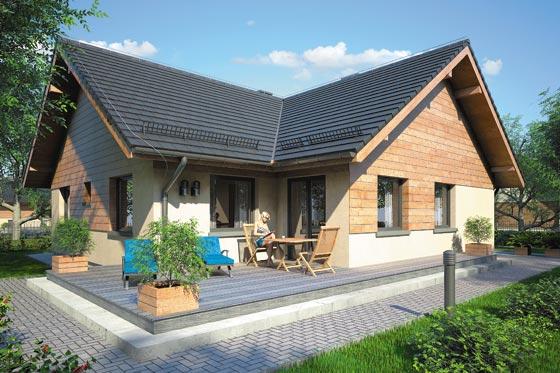 Projekt domu S-GL 853 Oxford