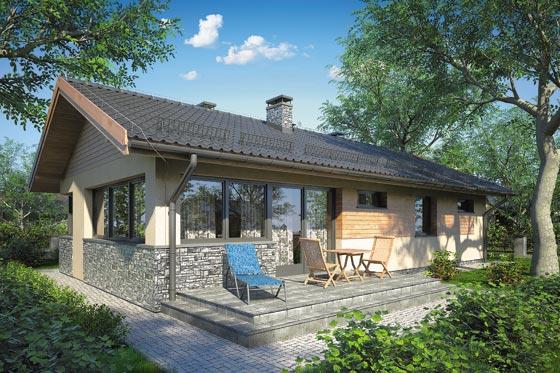 Projekt domu S-GLX 854 Zorba IV