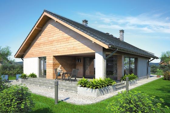 Projekt domu S-GL 866 Pelikan IX
