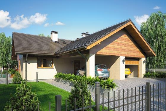 Projekt domu S-GL 876 Winston IV