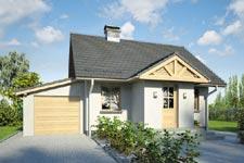 Projekt domu E-GL 881 Gniazdko II