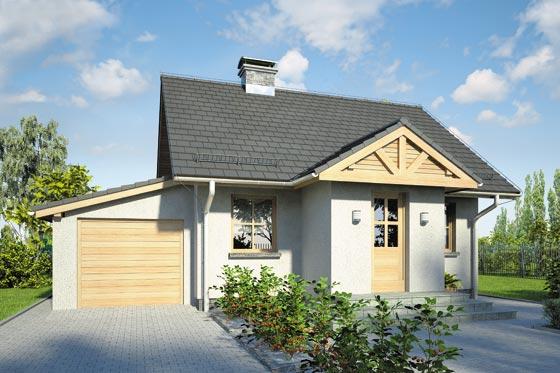 Projekt domu S-GL 881 Gniazdko II