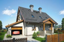 Projekt domu E-GL 884 Zachwytek II