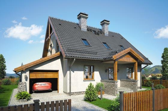 Projekt domu S-GL 884 Zachwytek II