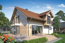 Projekt domu E-GL 902 Kelvin SP