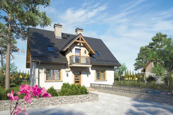 Projekt domu S-GL 919 Zuza