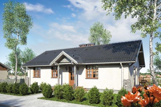 Projekt domu S-GL 933 Świt SP