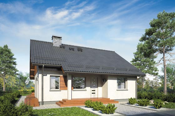 Projekt domu S-GL 951 Remik IV SP