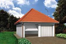 Projekt garażu Z 1
