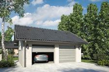Projekt garażu Z 10