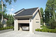 Projekt garażu Z 14