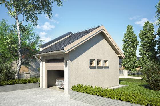 Projekt domu S-Z 14