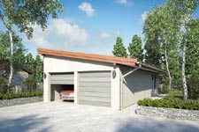 Projekt garażu Z 15
