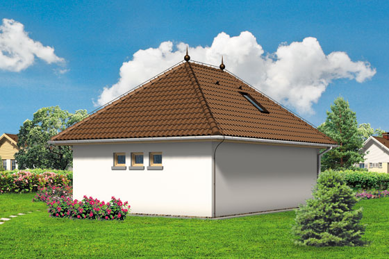 Projekt domu S-Z 17