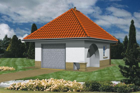 Projekt domu S-Z 2