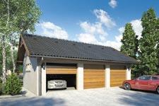 Projekt garażu Z 21