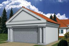 Projekt garażu Z 3