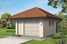 Projekt garażu Z 33