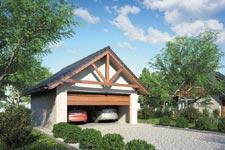 Projekt garażu Z 42