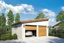 Projekt garażu Z 9